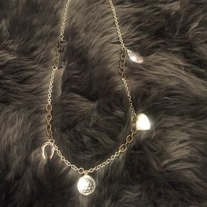 Vintage charm necklace, one of a kind